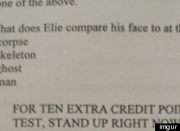 The Extra Credit Question Of Your Dreams (PHOTO)