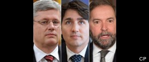 HARPER TRUDEAU MULCAIR SENATE