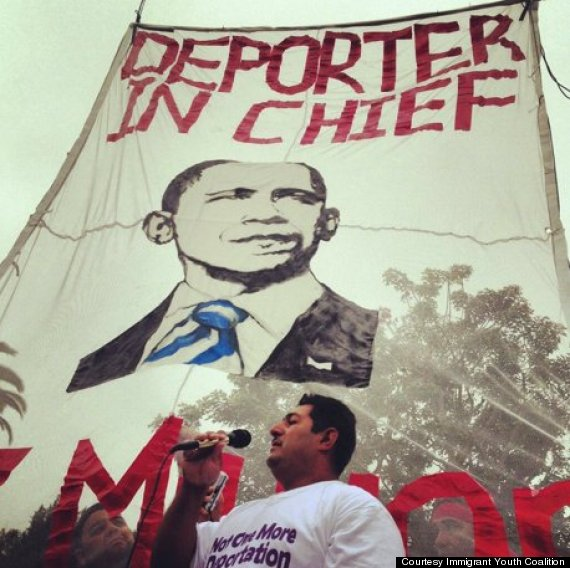 obama protests california