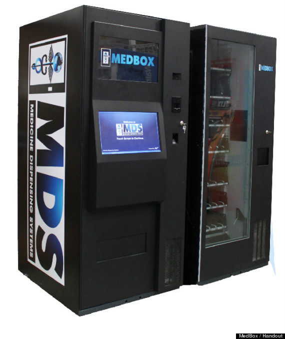 vending machine marijuana