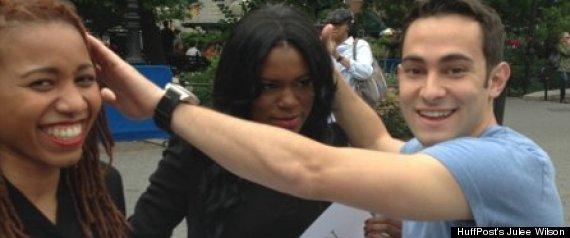 black womens hair