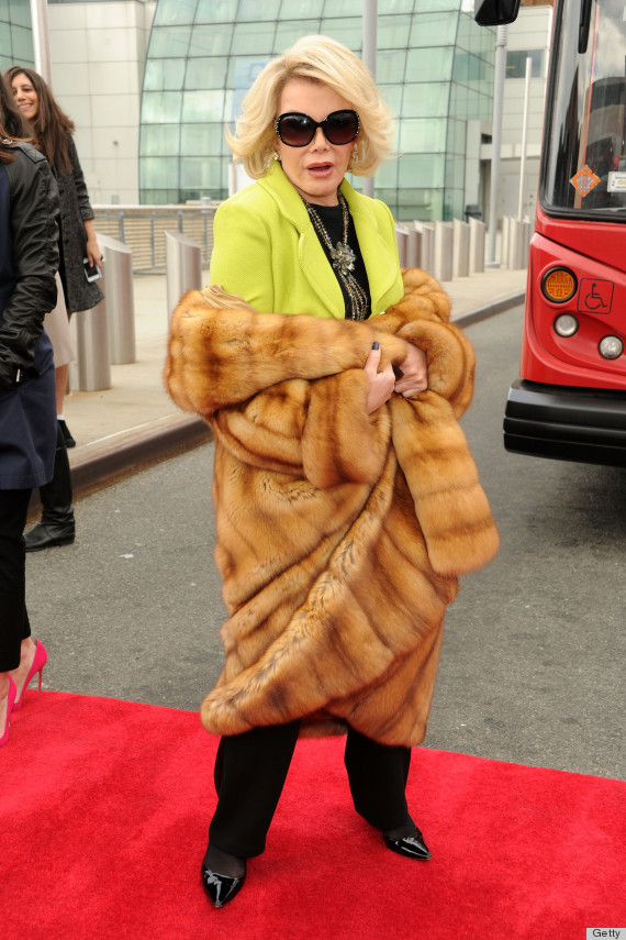 29492c3ee5a3 Joan Rivers  Birthday  Her Funniest Fashion Disses (PHOTOS ...