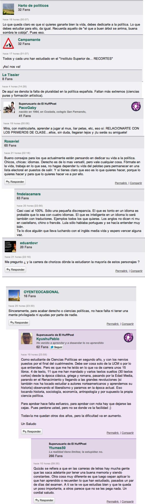 La comunidad de elhuffpost opina los comentarios de la - Que hay que estudiar para ser decorador ...