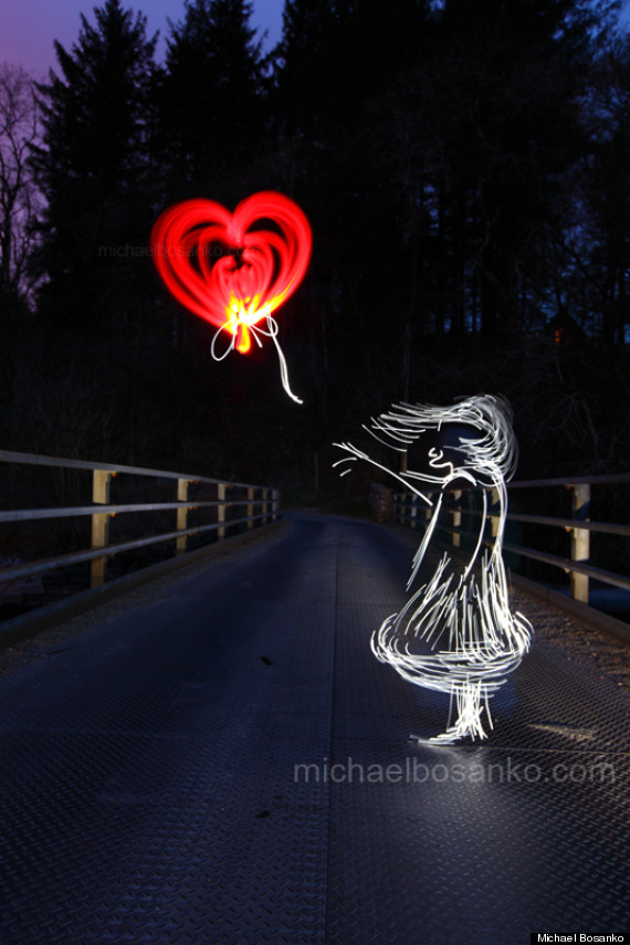 michael bosanko light art