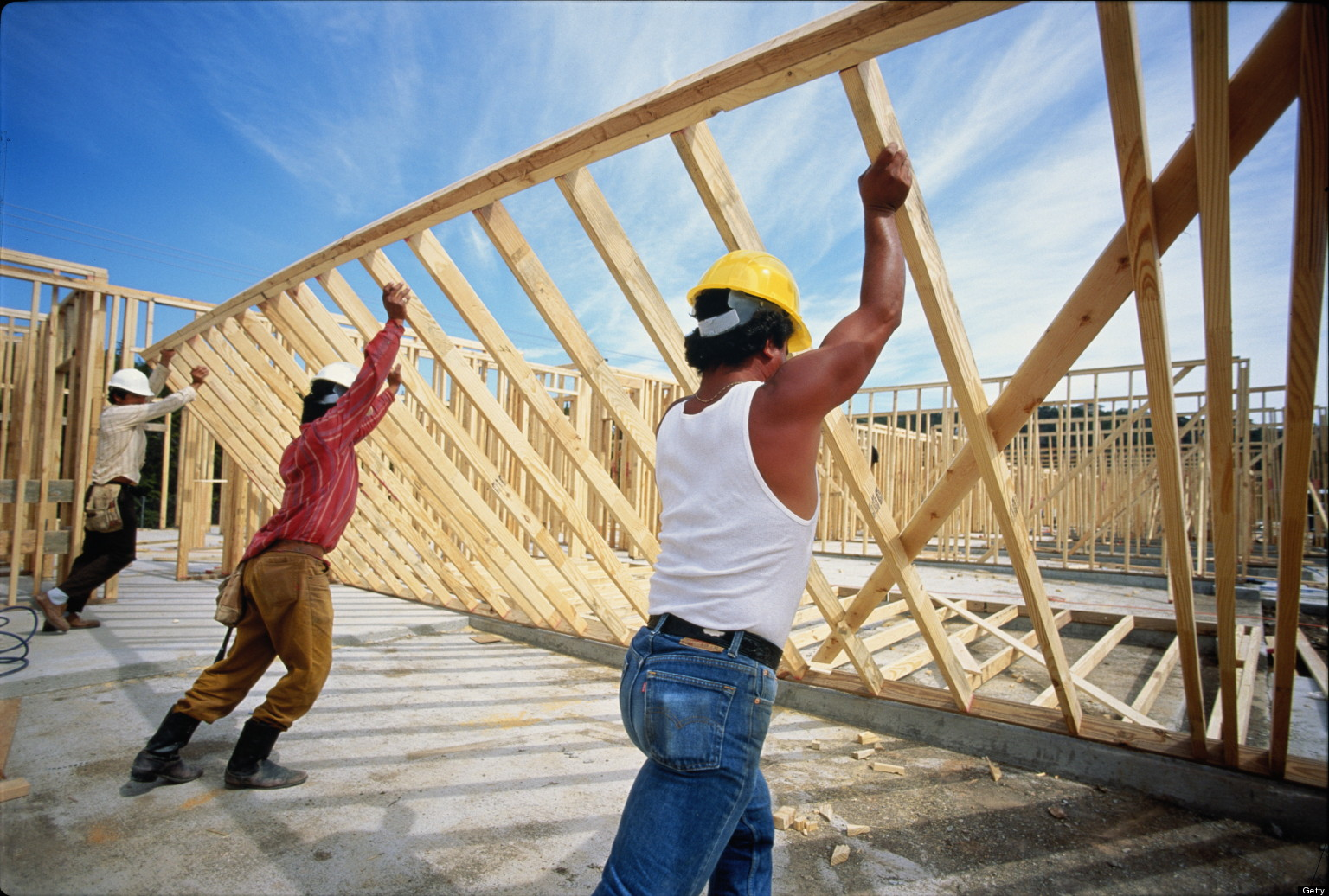 Building Construction Jobs : Canada housing booming construction jobs leave economists