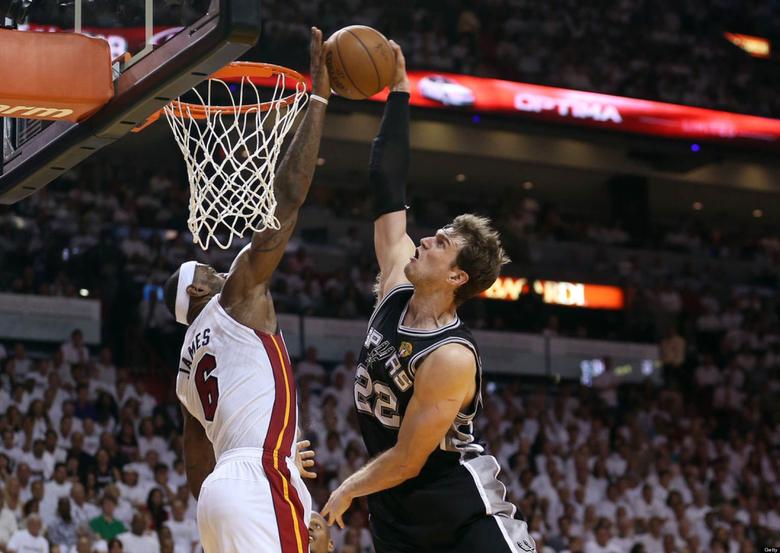 LeBron James Block: Tiago Splitter Dunk Attempted Rejected In NBA Finals Game 2 (VIDEO) | HuffPost