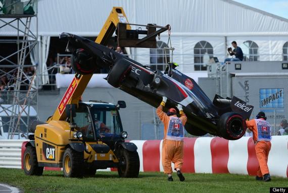 canadian grand prix track marshal