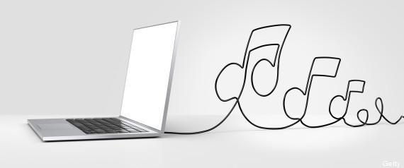 la musique en ligne