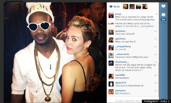 juicy j miley cyrus