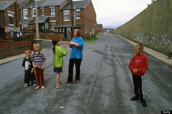 poverty north uk