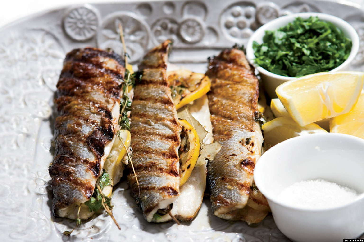 recipe of the day branzino