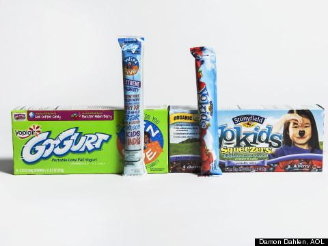 LOOK: What's Really In Yogurt Tubes?