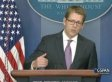 Jay Carney Refuses To Discuss Edward Snowden, But Says Obama Is Open To 'Debate' (VIDEO)