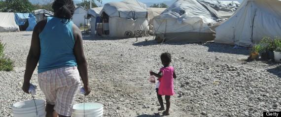 HAITI EVICTIONS UN