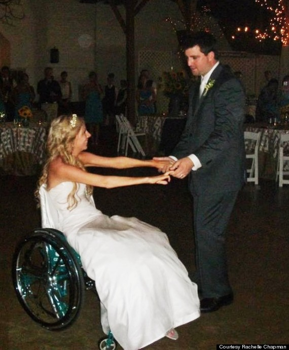 paralyzed bride