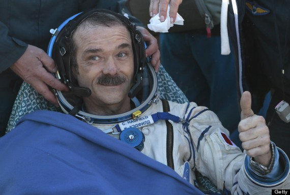 chris hadfield retires