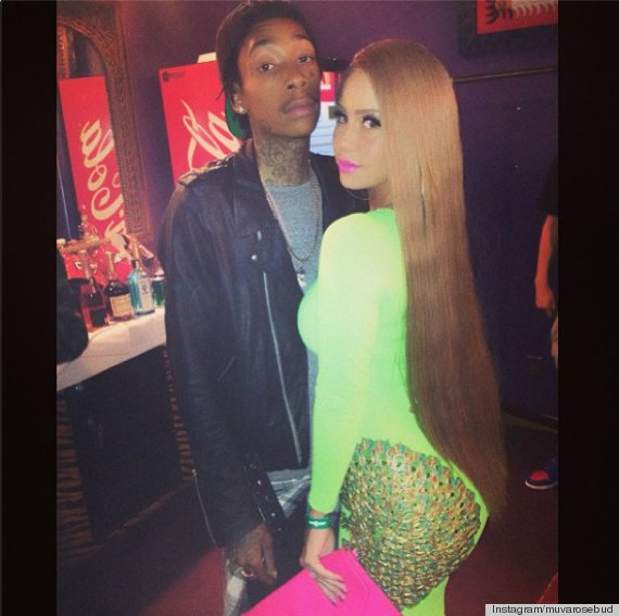 Amber Rose S Long Hair Catches Us Off Guard Photos Huffpost