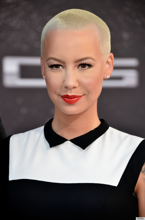 Prime Amber Rose39S Long Hair Catches Us Off Guard Photos The Short Hairstyles Gunalazisus
