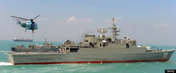Iran Relaunches Bayandor Destroyer