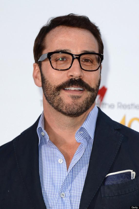 jeremy piven mustache