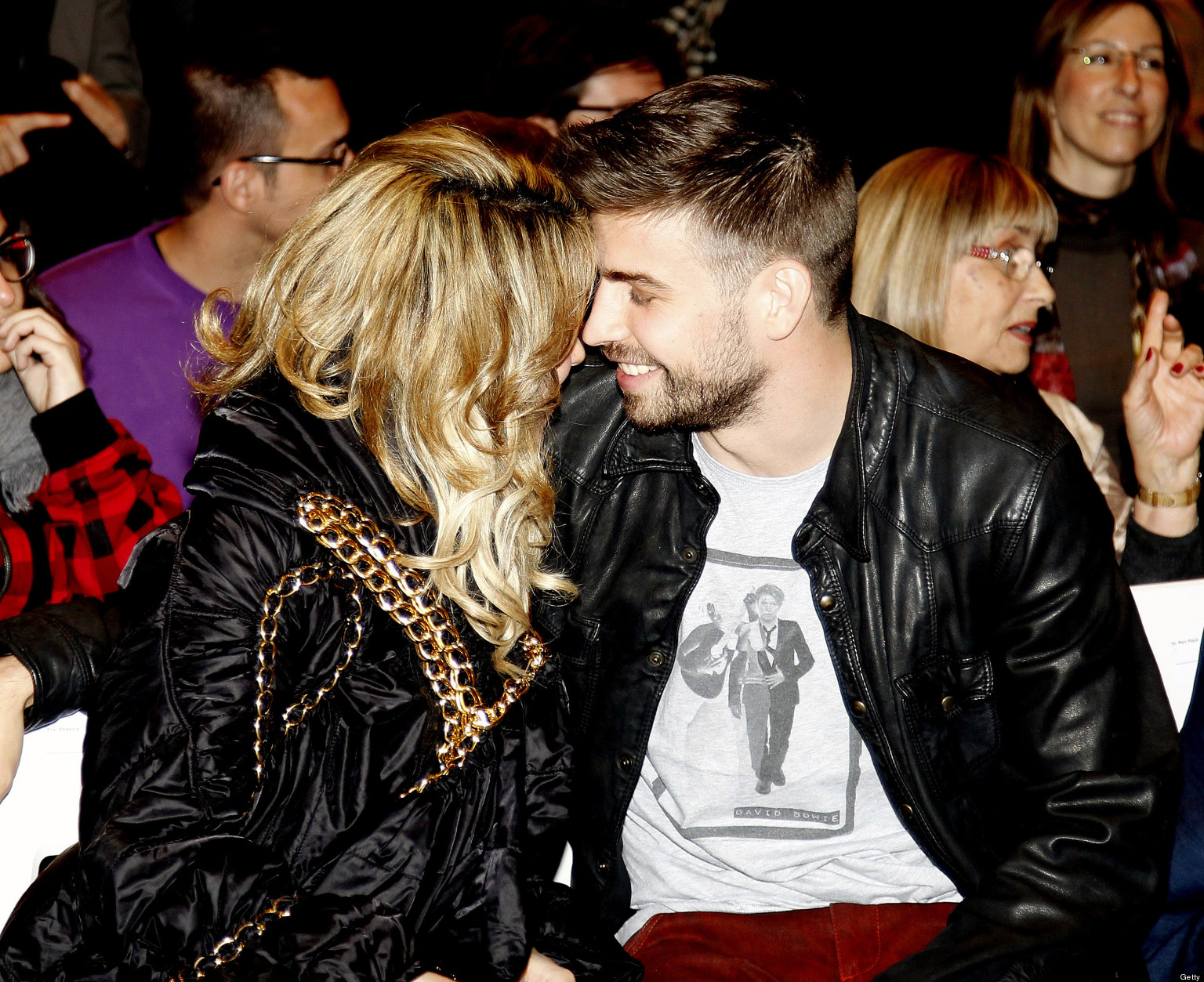 : Shakira was joined by her pro soccer player partner Gerard Pique ...