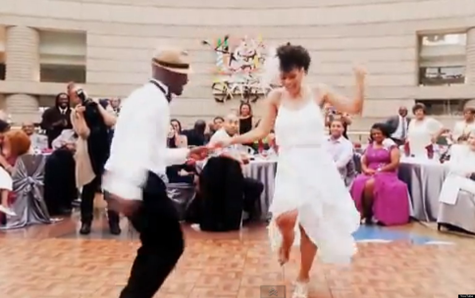 Wedding Dance: Newlyweds Perform Amazing Dance Medley (VIDEO)