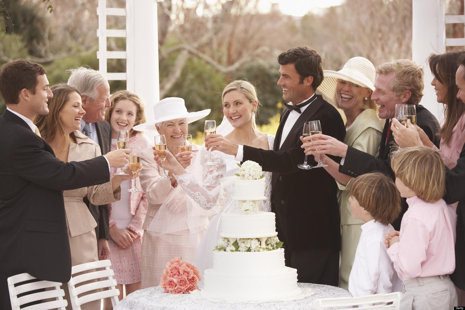 Тост на свадьбу по французски