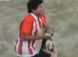 Enzo Jimenez Dog-Throwing Incident Results In Red Card At Soccer Match (GRAPHIC VIDEO)