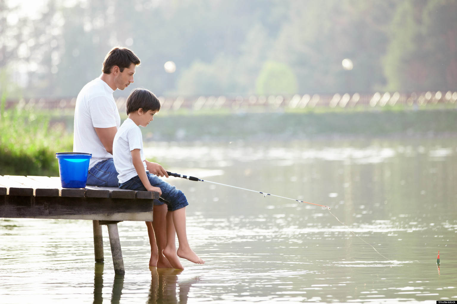 A tribute to my father for his role in my success huffpost for Father son fishing