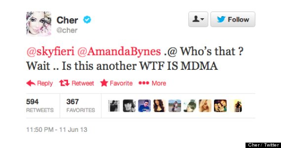 cher apologized amanda bynes