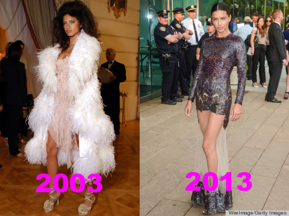 Adriana Lima Hasnt Changed A Bit In The Last Decade PHOTOS