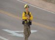 Black Forest Fire: Baby Deer Rescued By Firefighter (VIDEO)