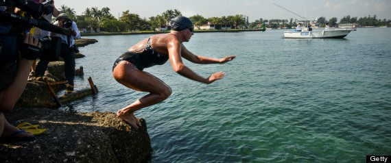 CHLOE MCCARDEL SWIM CUBA TO FLORIDA