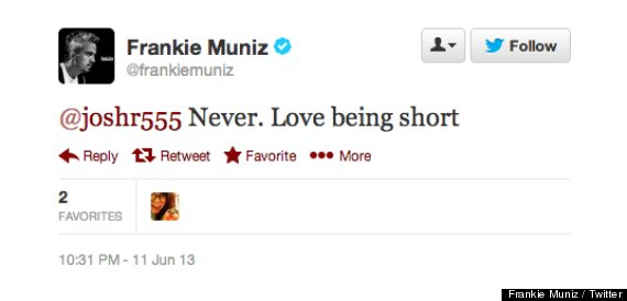 frankie muniz short