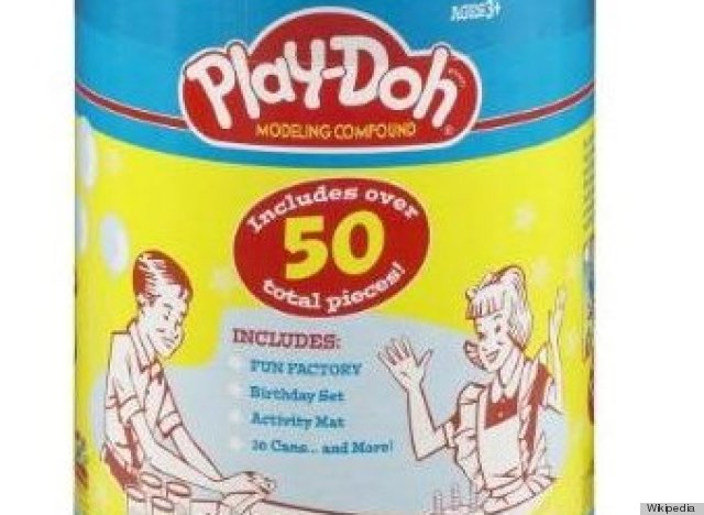play doh was wallpaper cleaner