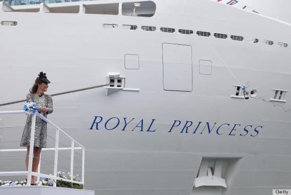 kate middleton cruise ship