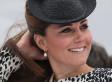 Kate Middleton Cruise Ship Naming Ceremony Calls For An Animal Print (PHOTOS)