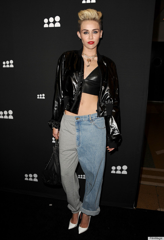 miley cyrus sweatpants jeans