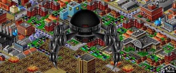 man of steel sim city 2000