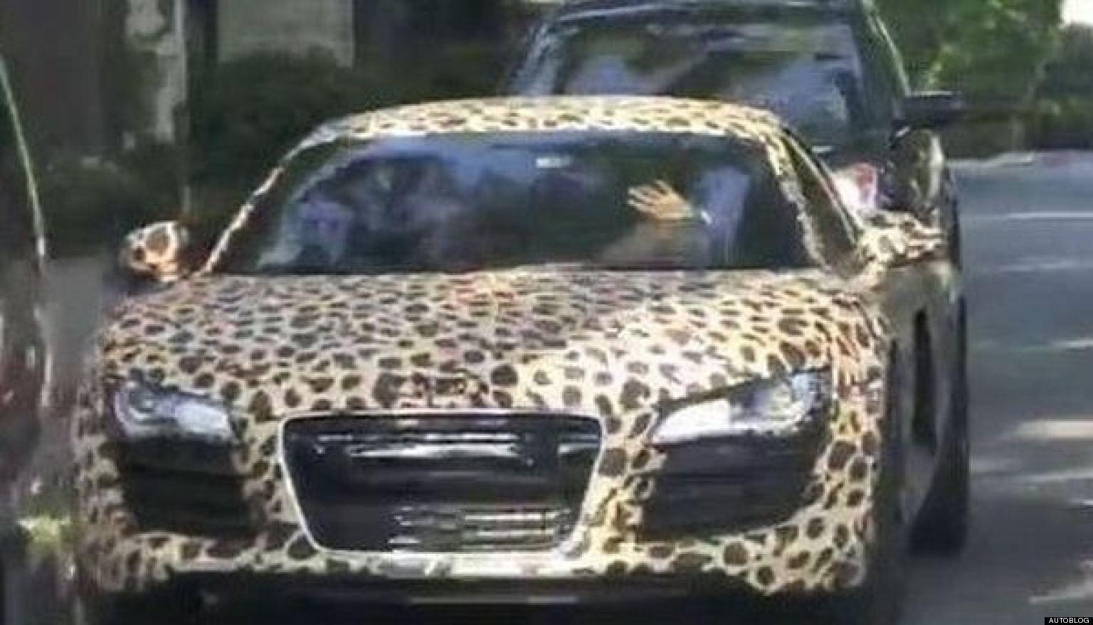 justin bieber audi leopard - photo #12