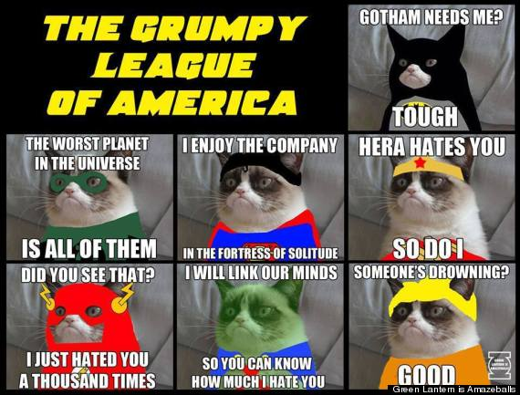 grumpy league of america