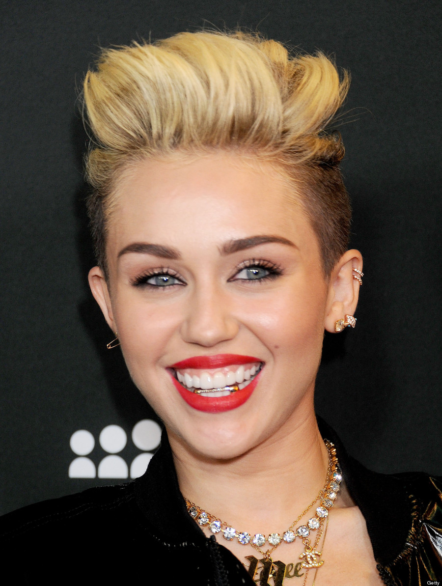 Miley Cyrus Goes Gangs...