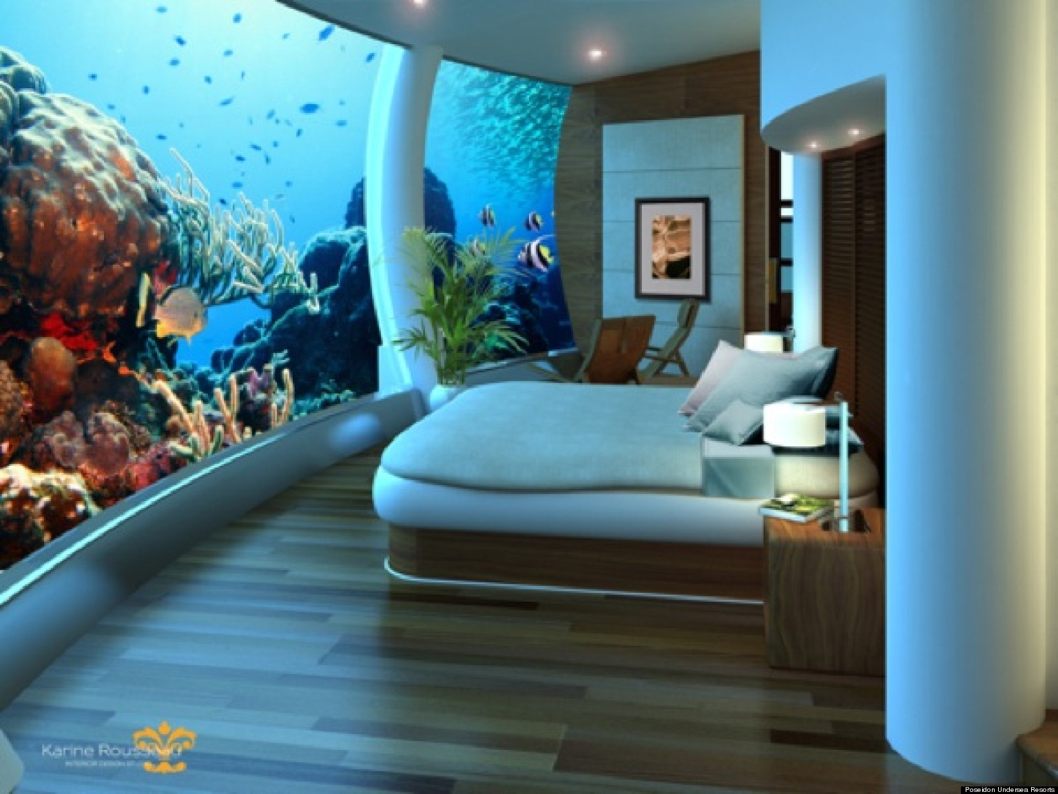 Underwater Themed Bedroom Viewing Gallery