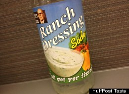We Tasted It: Ranch Dressing Soda