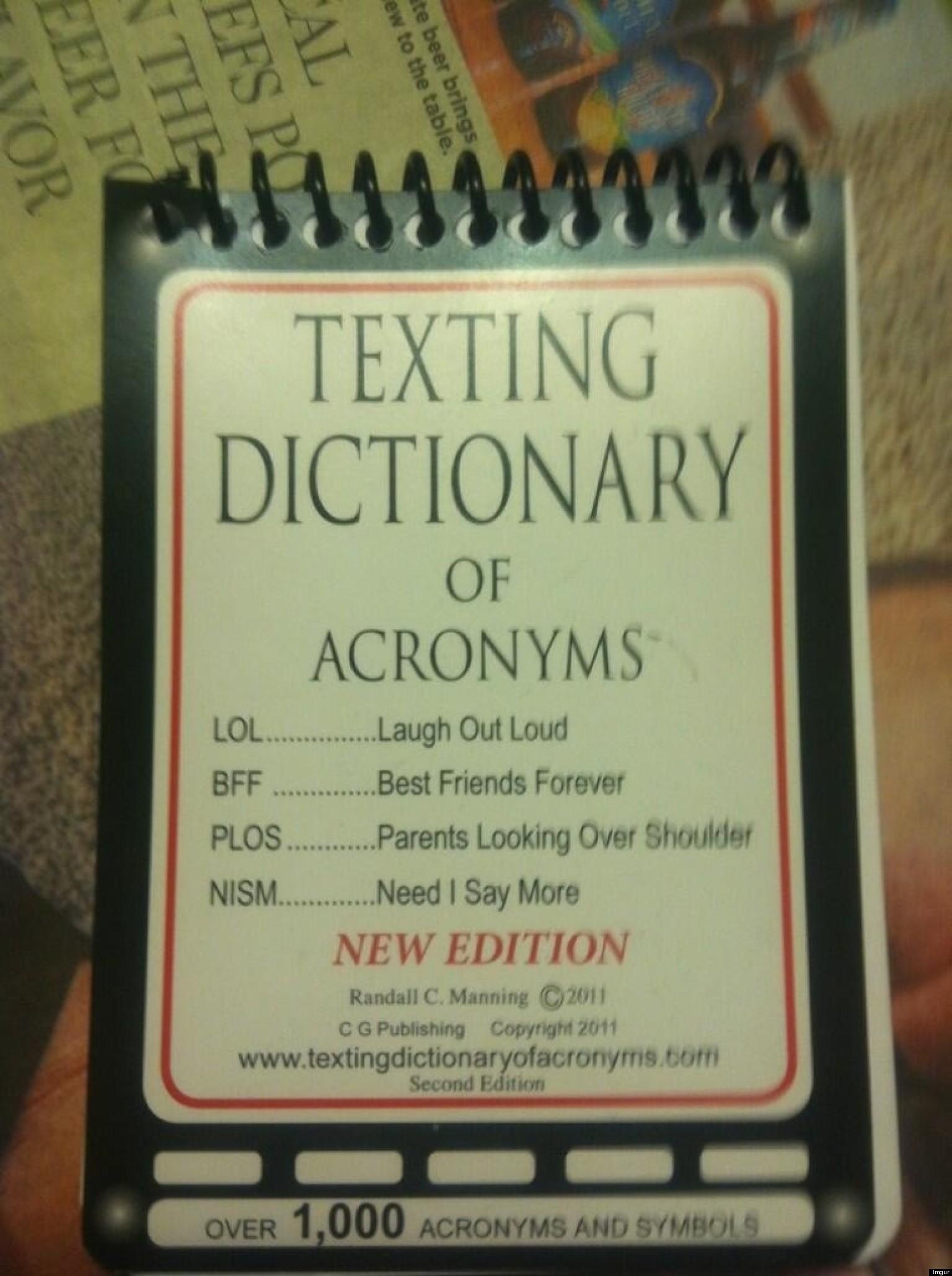 Dictionaries Real Teen 107