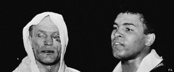 Henry Cooper Vs Cassius Clay: 50 Years On (PICTURES) - r-HENRY-COOPER-CASSIUS-CLAY-large570