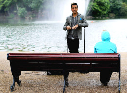 WATCH: Why Is Russell Kane Doing Stand-Up In A Park?