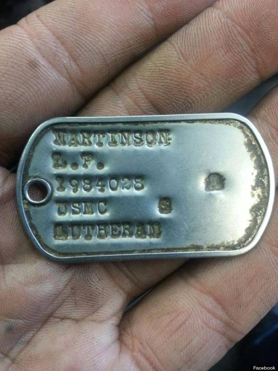 Us marine dog tags