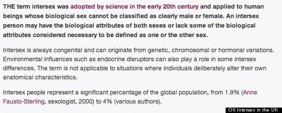 intersex definition