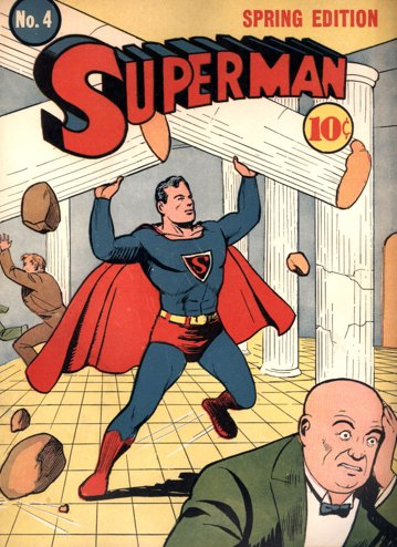 second superman comic